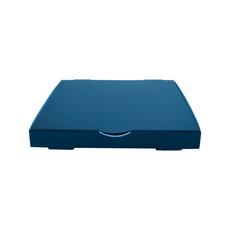 Premium Pizza Box 11 Inch One Piece - Premium Gloss Navy Blue (White Inside)