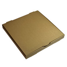 Premium Pizza Box 15 Inch One Piece - Kraft Brown (Brown Inside)