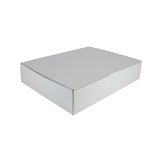 12 Donut & Cake One Piece Cardboard Box 16872 - Premium Matt White (White Inside)