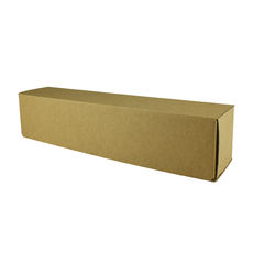 Olive Oil & Condiments Box Large - Kraft Brown (Brown Inside)