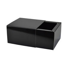 Slide Over Cover Medium Base & Lid - Gloss Black