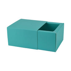Slide Over Cover Medium Base & Lid - Matt Blue