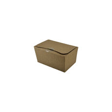 Two Fold Large - Kraft Brown (Brown Inside) - Paperboard