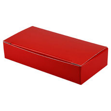 Small Keyring Box- Gloss Red - Paperboard - Temp out of Stock