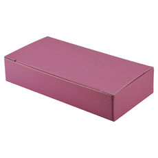 Small Keyring Box - Matt Pink - Paperboard
