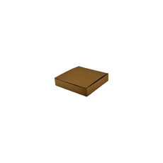 Medium Keyring Box - Kraft Brown - Paperboard