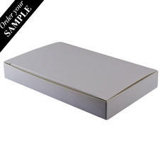 SAMPLE - Large Keyring Box - Smooth White