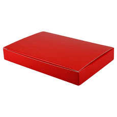 Large Keyring Box- Gloss Red