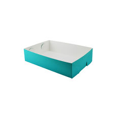 Paperboard Food Tray 1 - Matt Blue