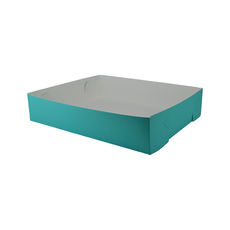 Paperboard Food Tray 3 - Matt Blue