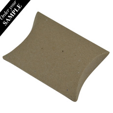 SAMPLE - Premium Pillow Pack Extra Small - Recycled Brown (Brown Inside) - Paperboard