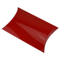 Premium Pillow Pack Medium - Gloss Red  - Paperboard - Temp out of Stock
