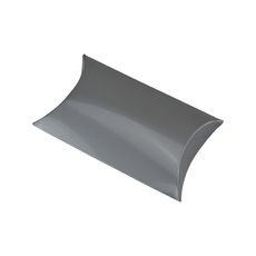 Premium Pillow Pack Small - Gloss Silver  - Paperboard
