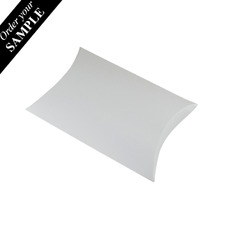 SAMPLE - Premium Pillow Pack Large - Smooth White - Paperboard