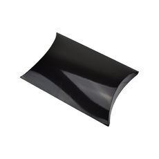 Premium Pillow Pack Large - Gloss Black  - Paperboard