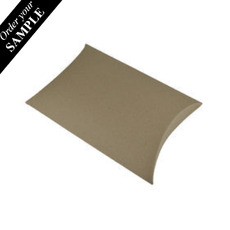 SAMPLE - Premium Pillow Pack Extra Large- Recycled Brown (Brown Inside)