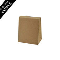 SAMPLE - Pyramid Tiny - Kraft Brown Paperboard (285gsm)