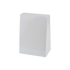 Pyramid Small - Smooth White  - Paperboard