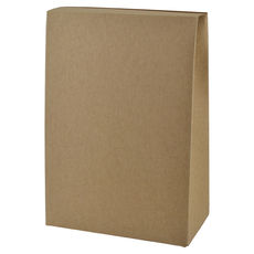 Pyramid Large - Kraft Brown (Brown Inside) - Paperboard