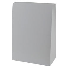 Pyramid Large - Smooth White  - Paperboard