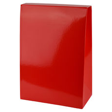 Pyramid Large - Gloss Red  - Paperboard