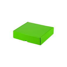 One Piece Postage & Gift Box 18438 - Premium Gloss Lime Green (White Inside)