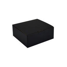 One Piece Postage & Gift Box 18838 - Kraft Black (Double Sided Black)