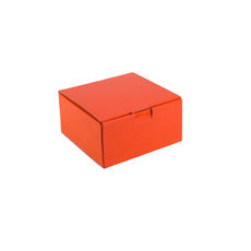 One Piece Postage & Gift Box 18838 - Premium Gloss Orange