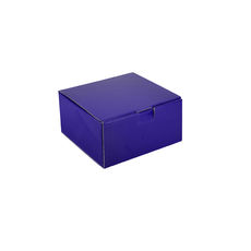 One Piece Postage & Gift Box 18838 - Premium Gloss Purple (White Inside)