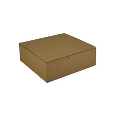 One Piece Postage & Gift Box 18839 - Kraft Brown (Brown Inside)
