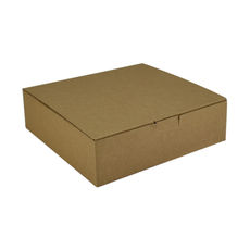 One Piece Postage & Gift Box 18840 -Kraft Brown (Brown Inside)