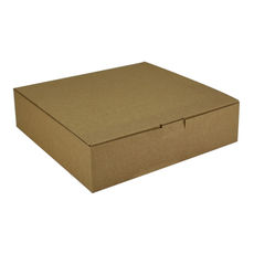 One Piece Postage & Gift Box 18841 - Kraft Brown (Brown Inside)