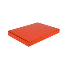 A5 Postal Box 25mm High - Premium Matt Orange (White Inside)