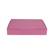 A5 Postal Box 50mm High - Premium Gloss Baby Pink (White Inside)