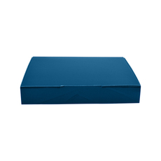 A5 Postal Box 50mm High - Premium Matt Navy Blue (White Inside) Temp out of Stock