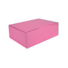 A5 Postal Box 75mm High - Premium Matt Baby Pink (White Inside)