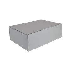 A5 Postal Box 75mm High - Premium Matt White (White Inside)