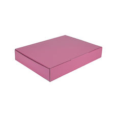 A4 Postal Box 50mm High - Premium Matt Baby Pink (White Inside)