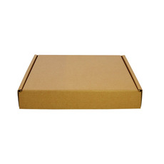 One Piece Postage & Gift Box 19041 - Kraft Brown (Brown Inside)