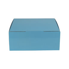 Small Shipper Box 19268 - Premium Gloss Baby Blue