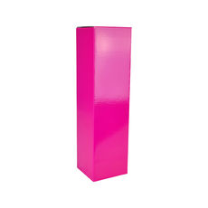 Single Wine Box 19274 - Premium Gloss Hot Pink
