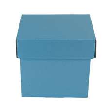 Tiny Gift Box 19276 Base & Lid - Premium Gloss Baby Blue