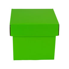 Tiny Gift Box 19276 Base & Lid - Premium Gloss Lime Green