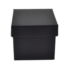 Tiny Gift Box 19276 Base & Lid - Premium Matt Black