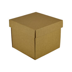 Mini Gift Box 19277 Base & Lid - Kraft Brown