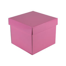 Mini Gift Box 19277 Base & Lid - Premium Matt Baby Pink