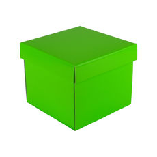 Mini Gift Box 19277 Base & Lid - Premium Gloss Lime Green