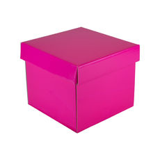 Mini Gift Box 19277 Base & Lid - Premium Gloss Hot Pink