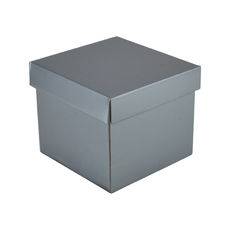 Mini Gift Box 19277 Base & Lid - Premium Gloss Silver