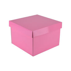 Medium Gift Box 19278 Base & Lid - Premium Matt Baby Pink